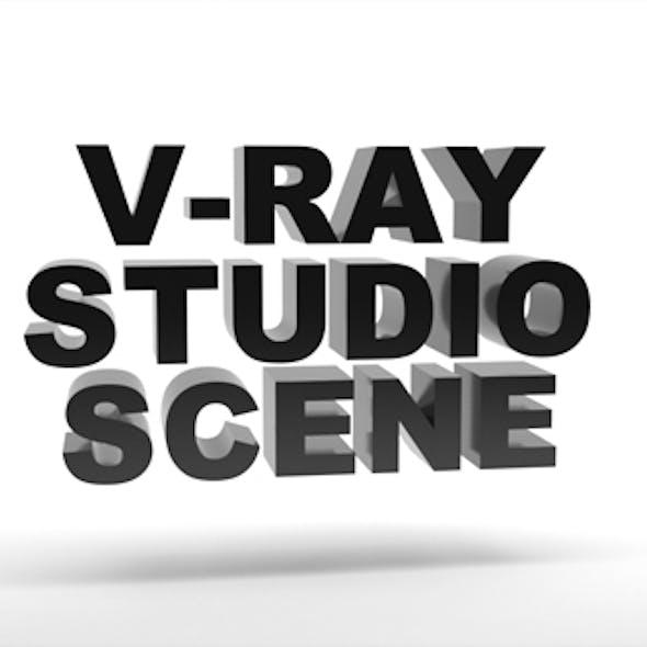 Empty Vray Studio Setup