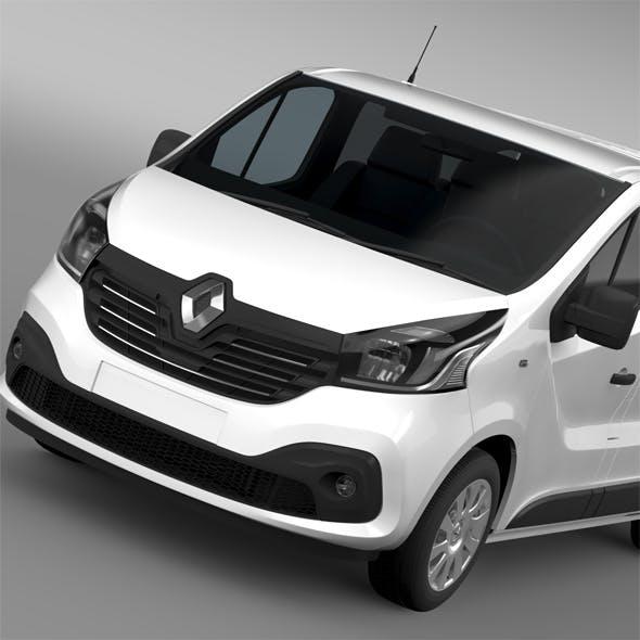 a0107aacc3 Renault Trafic Van 2015 - 3DOcean Item for Sale