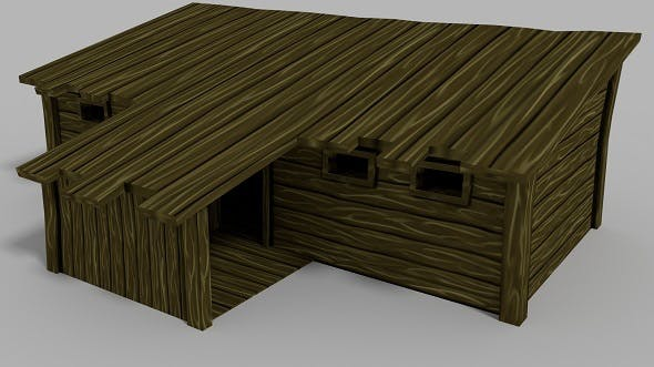 Lowpoly RPG House - 3DOcean Item for Sale