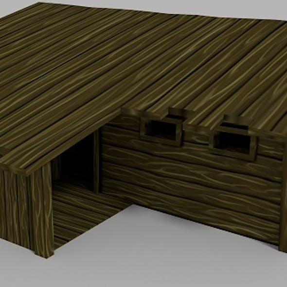 Lowpoly RPG House