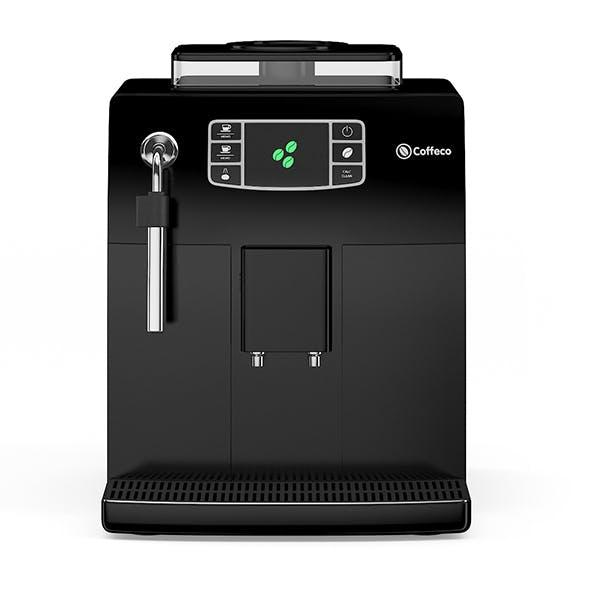 Black Espresso Coffee Machine