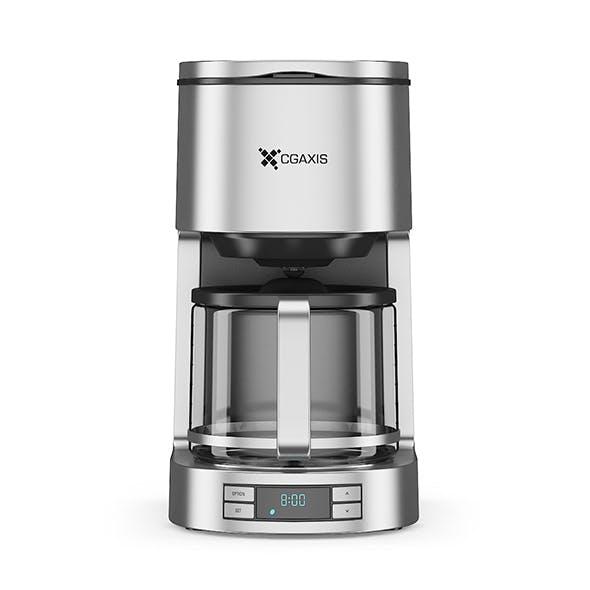 Drip Coffee Machine - 3DOcean Item for Sale
