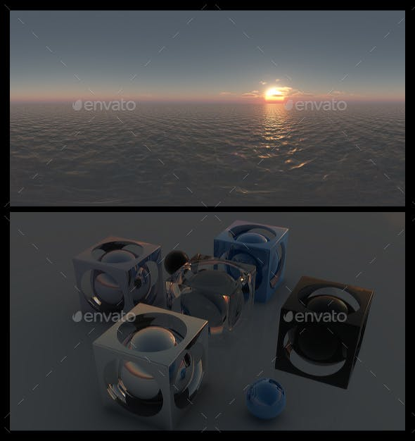 Ocean Dawn 8 - HDRI - 3DOcean Item for Sale