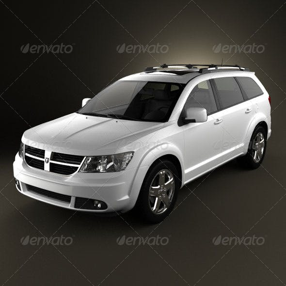 Dodge Journey  - 3DOcean Item for Sale