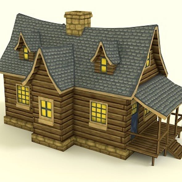 Low Poly RPG House