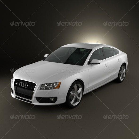 Audi A5 Sportback 2010  - 3DOcean Item for Sale