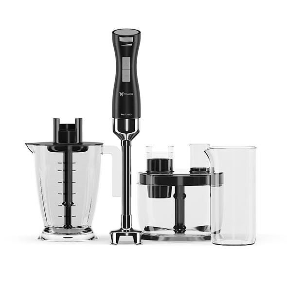 Immersion Blender with accessories - 3DOcean Item for Sale