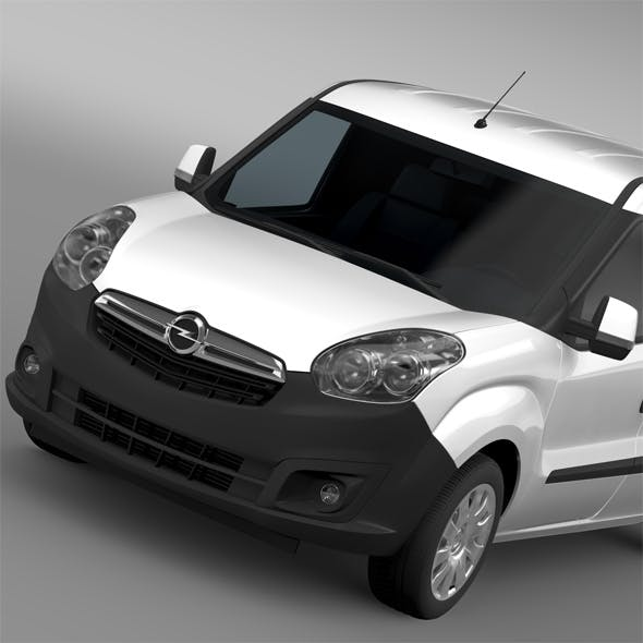 Opel Combo LWB Cargo D 2015