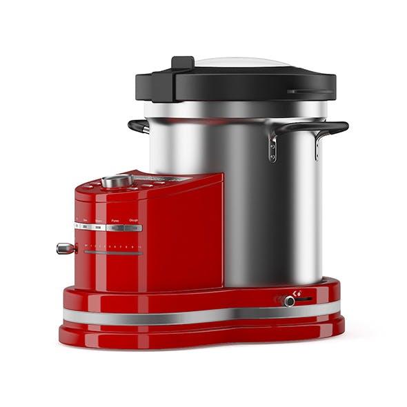 Red Food Processor