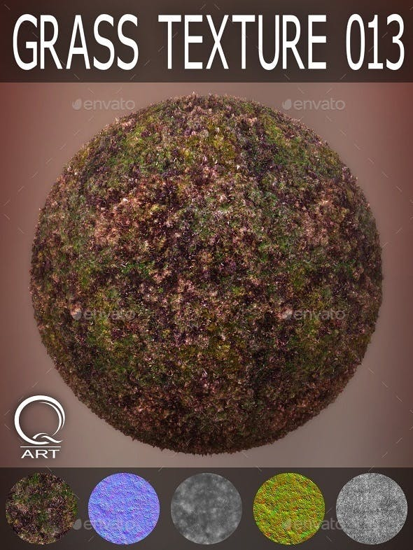 Grass Textures 013 - 3DOcean Item for Sale