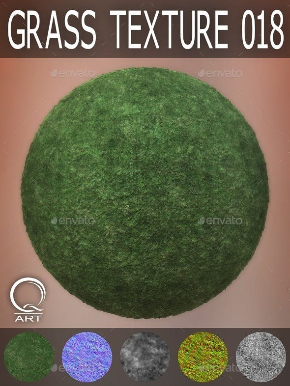 Grass Textures 018 - 3DOcean Item for Sale