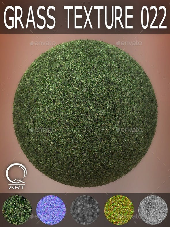 Grass Textures 022 - 3DOcean Item for Sale