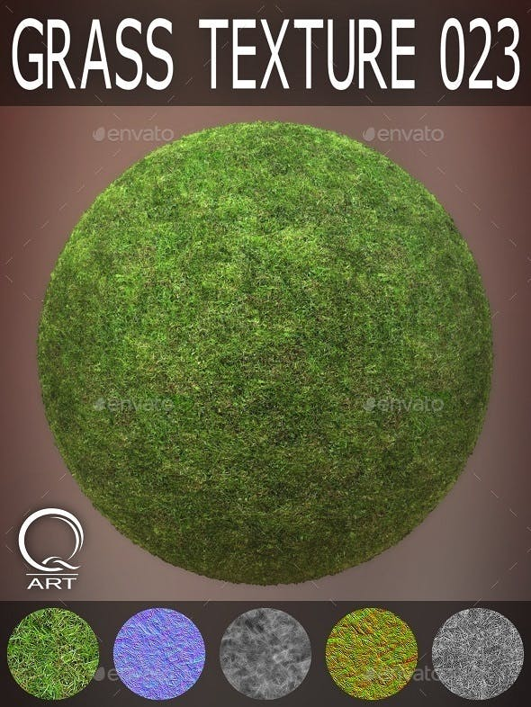 Grass Textures 023 - 3DOcean Item for Sale