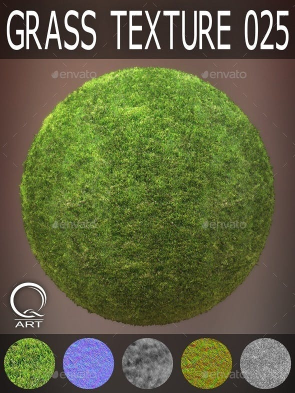 Grass Textures 025 - 3DOcean Item for Sale