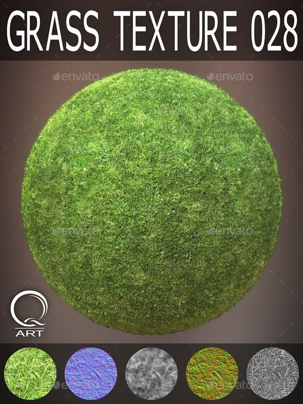 Grass Textures 028 - 3DOcean Item for Sale
