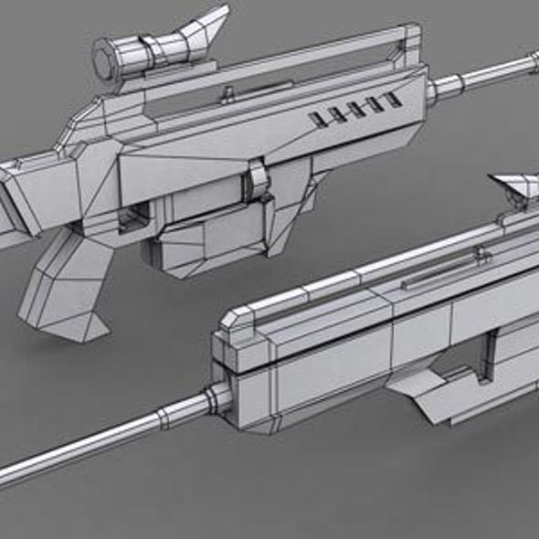 Game Weapon Model 2