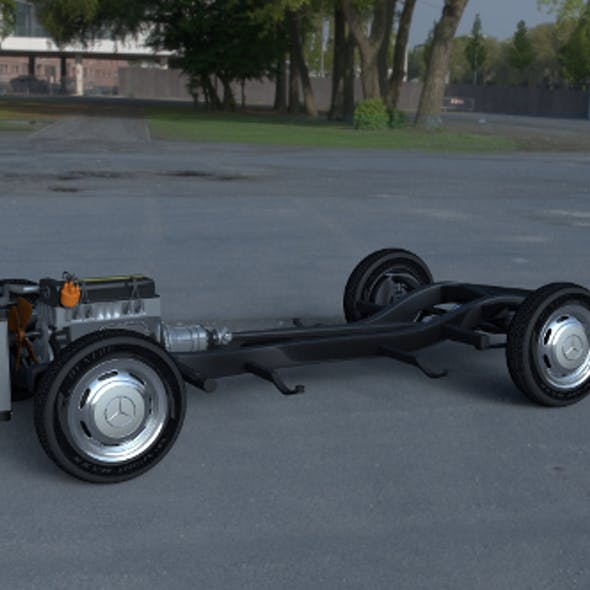 Mercedes Benz 190SL Full Chassis