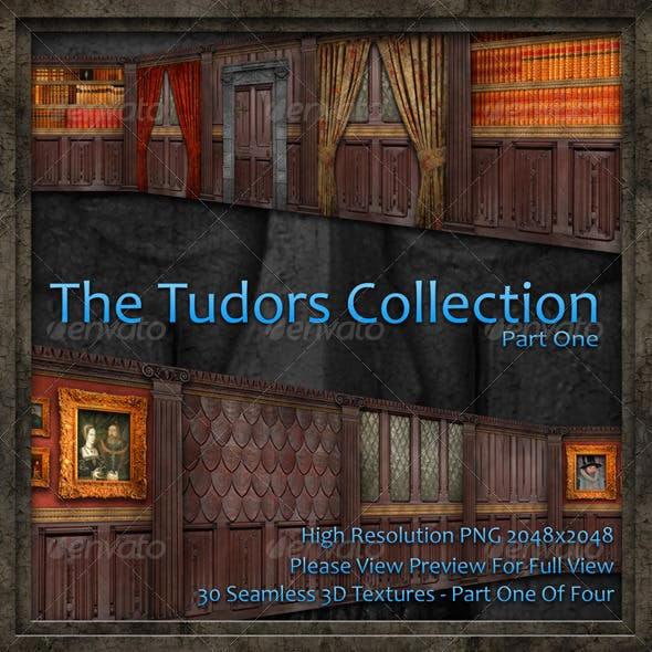 The Tudors Collection - Part One Of Four - 3DOcean Item for Sale