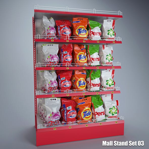 Mall Stand Set 03