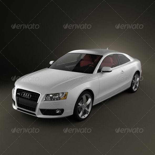 Audi A5 Coupe  - 3DOcean Item for Sale
