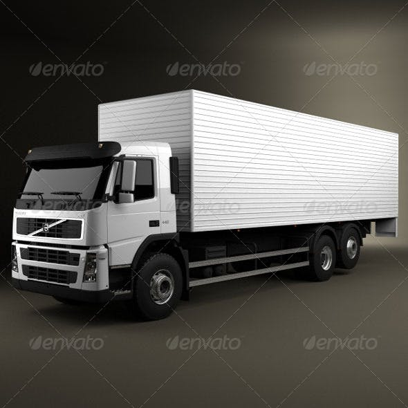 Volvo Truck 6x2 Delivery  - 3DOcean Item for Sale