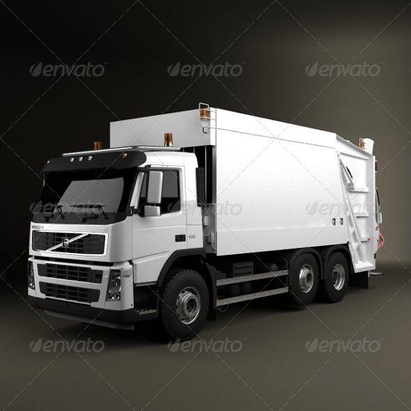 Volvo Truck 6x2 Garbage