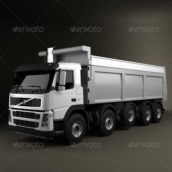 Volvo Truck 10x4 Dumper