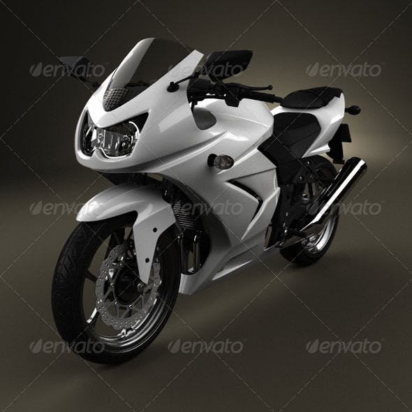 Sport Bike 1 - 3DOcean Item for Sale