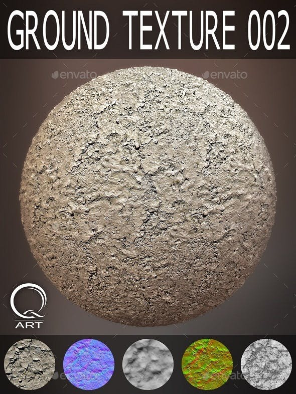 Ground Textures 002 - 3DOcean Item for Sale