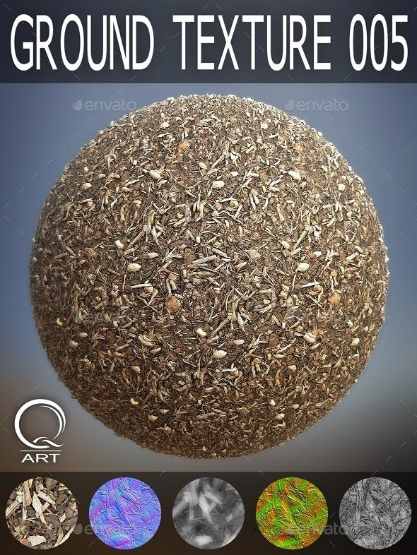Ground Textures 005 - 3DOcean Item for Sale