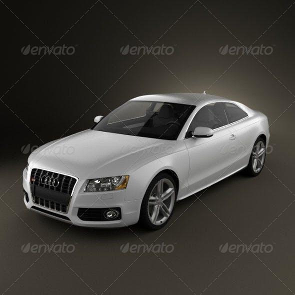 Audi S5  - 3DOcean Item for Sale
