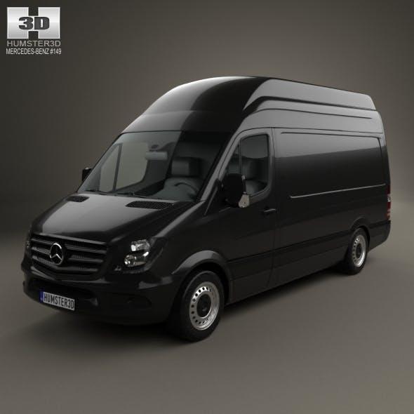 Mercedes-Benz Sprinter Panel Van SWB SHR 2013 - 3DOcean Item for Sale