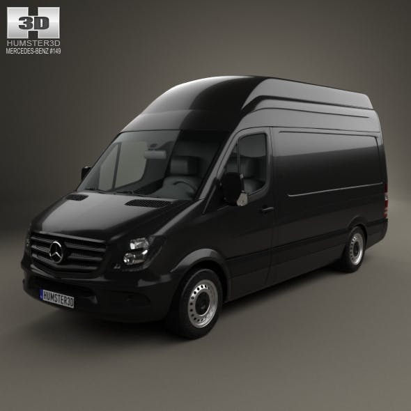 Mercedes-Benz Sprinter Panel Van SWB SHR 2013