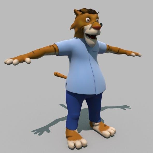 Cartoon Tiger