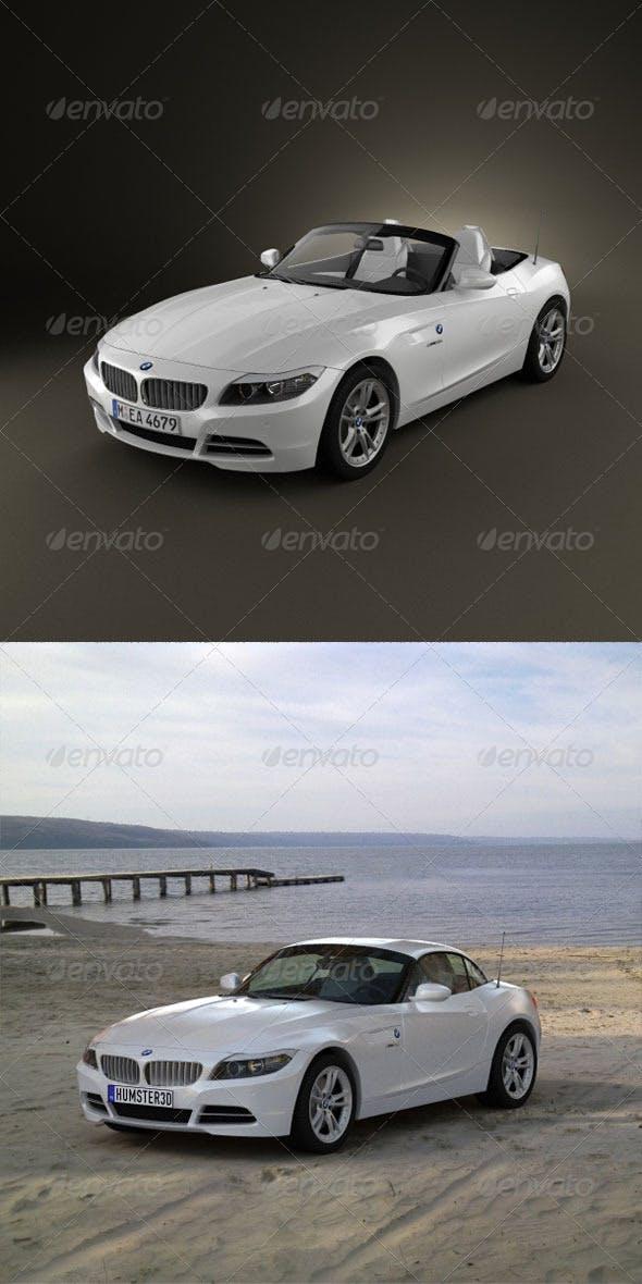 BMW Z4 2010  - 3DOcean Item for Sale