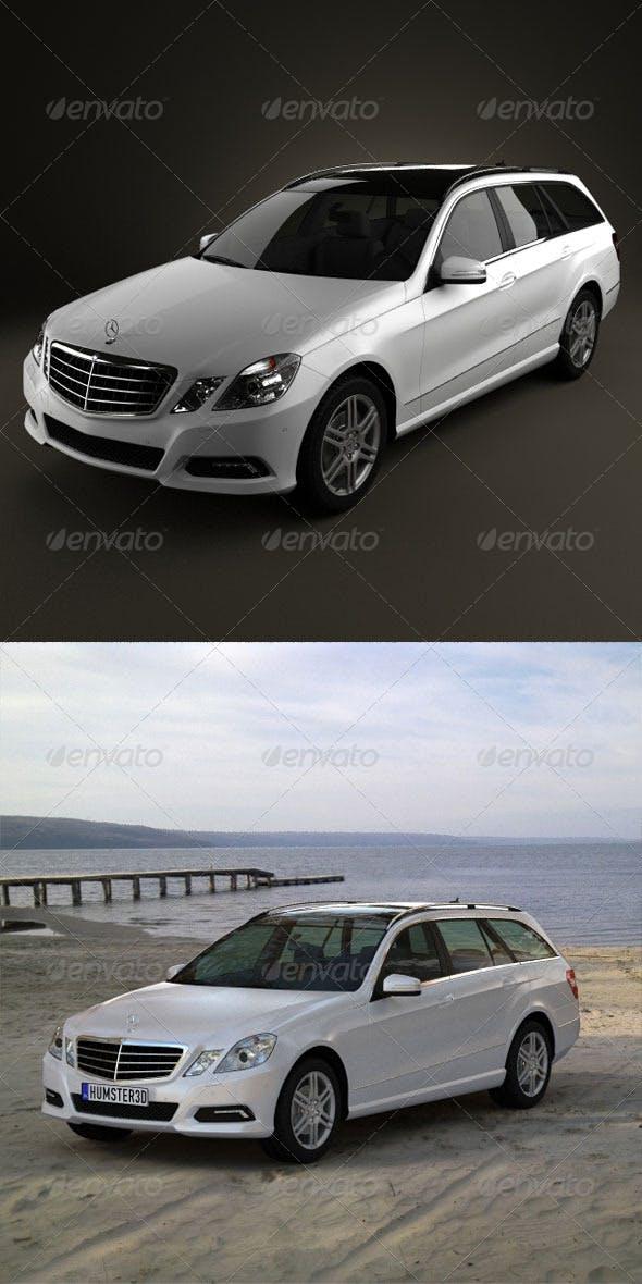 Mercedes-Benz E-class estate  - 3DOcean Item for Sale