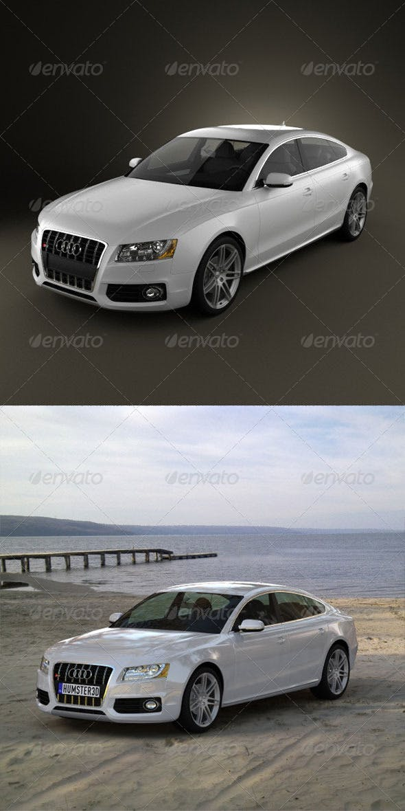 Audi S5 Sportback 2011  - 3DOcean Item for Sale