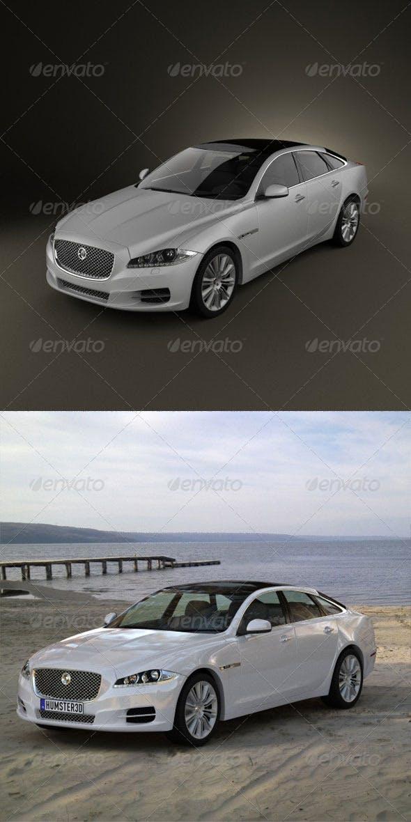 Jaguar XJ 2010  - 3DOcean Item for Sale