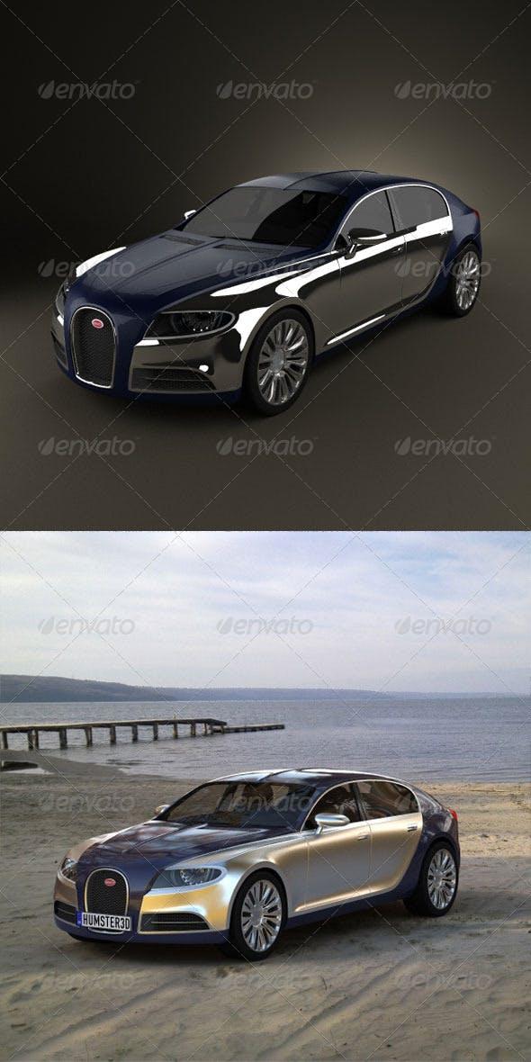 Bugatti Galibier  - 3DOcean Item for Sale