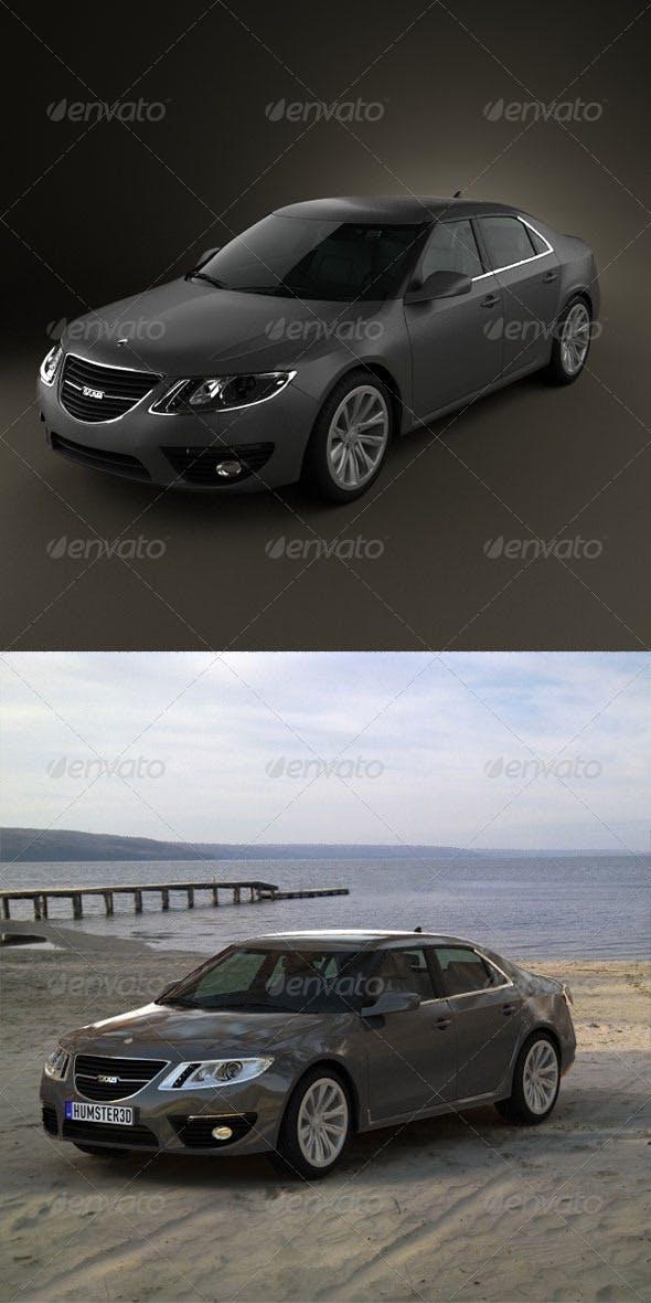 Saab 9-5 2010  - 3DOcean Item for Sale