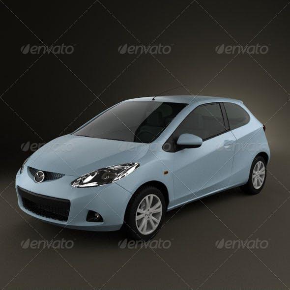 Mazda 2 3door