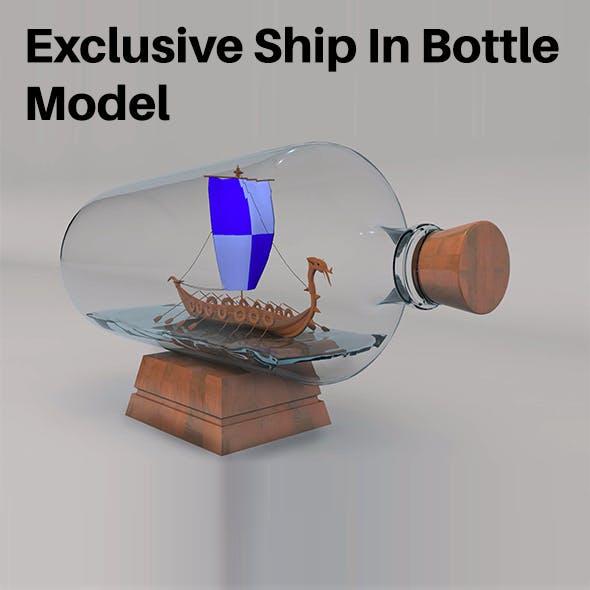 Ship In Bottle Model