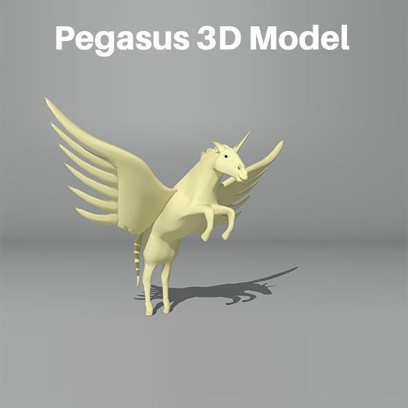 Pegasus 3D Model
