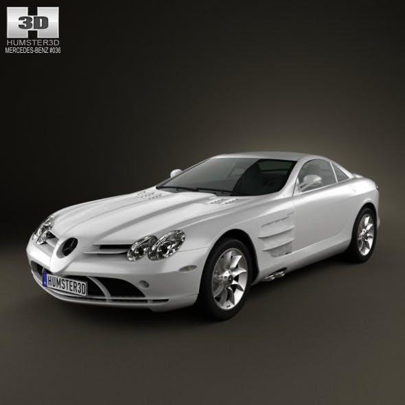 Mercedes-Benz SLR McLaren 2005 - 3DOcean Item for Sale
