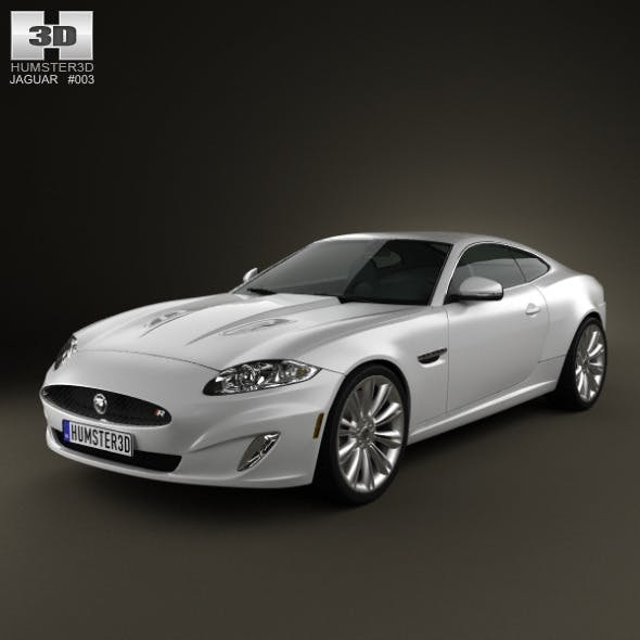 Jaguar XK (X150) 2012 - 3DOcean Item for Sale