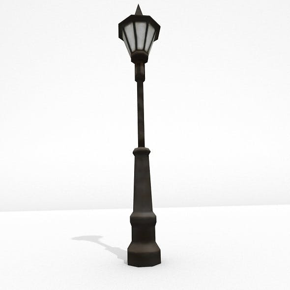 Low Poly Street Lamp