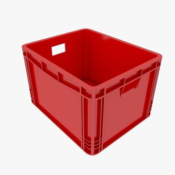 Plastic container - 3DOcean Item for Sale