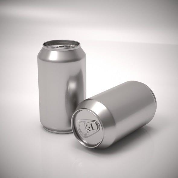 Aluminum soda can - 3DOcean Item for Sale