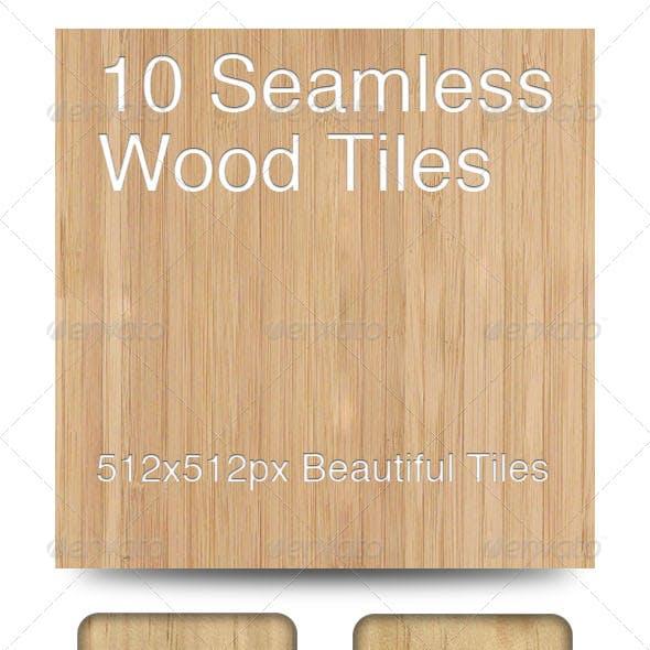 10 Seamless Wood Tiles
