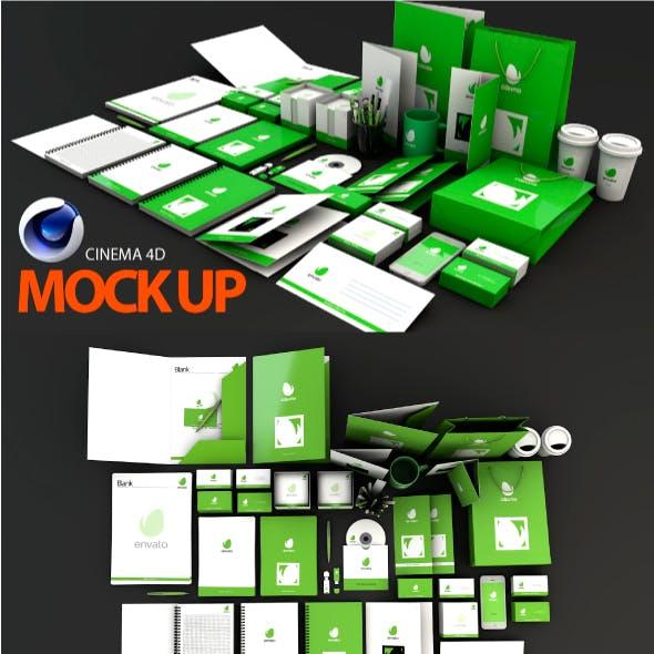 Mock Up project c4d